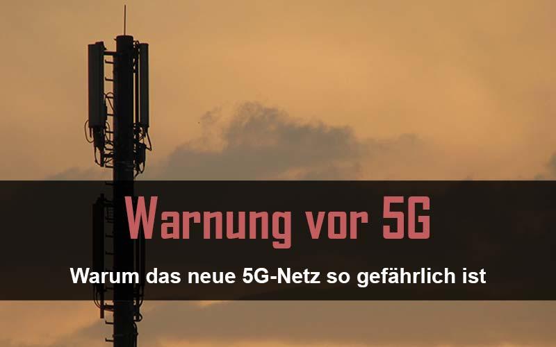 Achtung: Warum das 5G-Netz so gefährlich für Deine Gesundheit ist