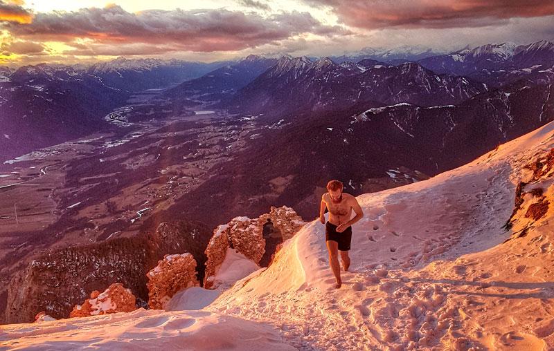 Winter-Berg-Lauf Sascha René Amolsch